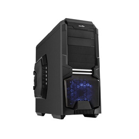 Gabinete Desktop Gamer Sentey Gs-6600 Entusiasta Wolf Preto