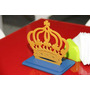 Centro De Mesa Aniversário Coroa 10 Unidades