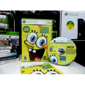Sponge Bob´s Truth Or Square (bob Esponja)-original Xbox 360