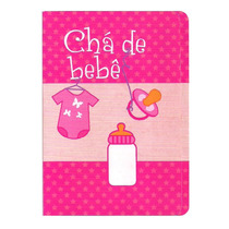 50 Convites De Chá De Bebê - Menina