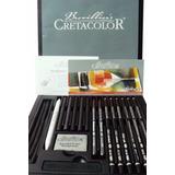 Set Dibujo Madera Cretacolor Black Box 20 Piezas (250075)