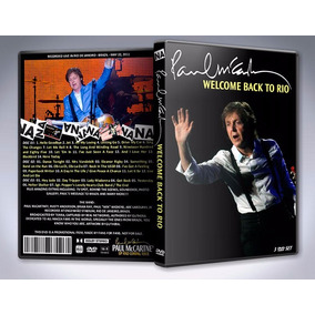 3 Dvds - Paul Mccartney - Live In Rio 2011