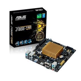 Placa Mae Asus J1800i-c/br Mini Itx Hdmi / Dual Core 2.41gh