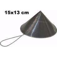 Coador De Óleo Chinoy Telado 15x13cm Inox