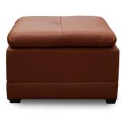 Taburete De Piel Genuina - Conforto Muebles