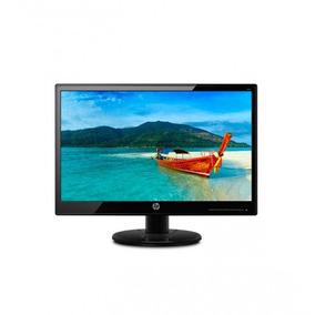 Monitor Hp 19ka Led 18.5 Negro Computador Pantalla Hp Ak