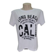 Camiseta T-shirt Feminina Estilosa