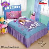Disney Princess Sofia 1 Pieza Colcha Doble