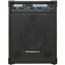 Caixa De Som Multiuso 100 Watts Com Bluetooth E Usb E Fm