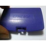 Tapa De Bateria Game Boy Color Morado Original