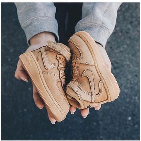 Zapatillas Air Force 1 Mid Flax Pack