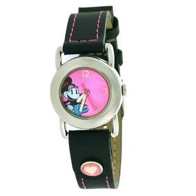 Nuevos Relojes Antiguos Disney Lorus Cuarzo Minnie Ratón Te