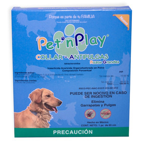 Pet N Play Collar Antipulgas Rg 42.15gr +kota