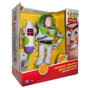 Toy Story Buzz Lightyear Poderoso Projetor Som Português Br