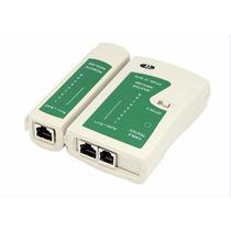 Tester Probador Telefonia Rj11 Cable Lan Internet Rj45 Forro
