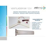 Ventilador Abanico Techo 12v Dc 6w Baterías Energía Solar