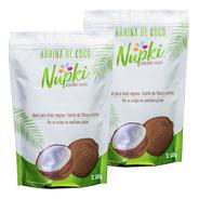 2 Pack. Harina De Coco Nupki 400g · Organica · Sin Gluten