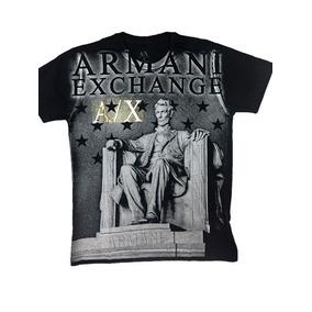 Camisetas Armanii Exchange Masculina 100% Origina Roupa