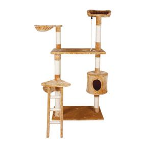 Mueble Rascador Para Gato Casa Y Escalera 158cm Envio Gratis