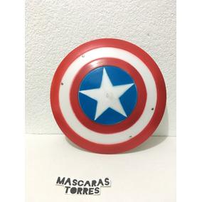 Capitan America Escudo Grande De Plastico Duro Envio Gratis