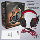 Audífonos Headset C/micrófono Gaming G2000 Kotion Luces Led