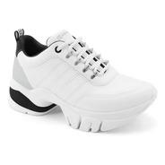 Tênis Feminino Ramarim Dad Chunky Sneaker 2180103 Pto
