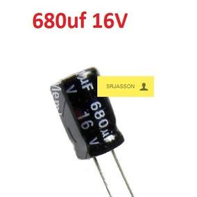 Condensadores Filtro 680uf 16v