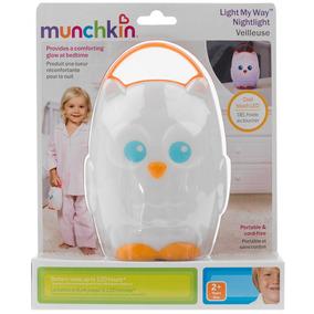 Lampara De Mano Fria Para Bebe Niño Con Asa Munchkin