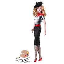 The Artist Barbie Doll - Em Sp - Frete Grátis