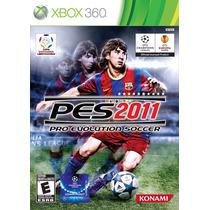 Pes 2011 Pro Evolution Soccer 2011 Xbox 360 Original A6406