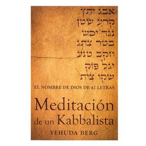 Libro Meditación De Un Kabbalista Cangrejo E.
