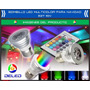 Bombillo Led Multicolor Para Carnaval - E27 110v