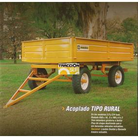 Acoplados Rurales 2 A 8 Tn Nuevos