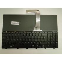 Teclado Dell Inspiron 15r N5110 06kejr Preto Com Moldura Br