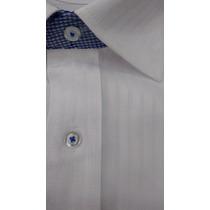 Camisa Social Masculina Punho Abotoadura Luxo