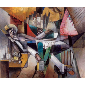 Lienzo Tela Canvas Hombre En Hamaca Albert Gleizes1913 60x72