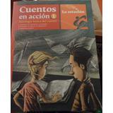 Libro Cuentos En Acción Lugones-quiroga Y Otros Autores
