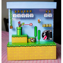 Papercraft Diorama Mario Bross - Game - Juego