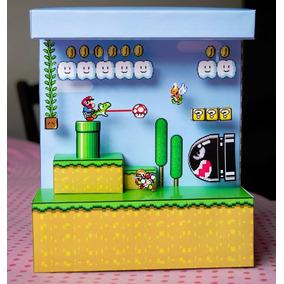 Diorama Mario Bross - Game - Juego