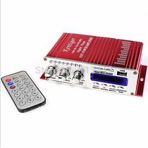 4 Canales De Red Hy504 Marcas Amplificador Del Coche Mp3 Fm/