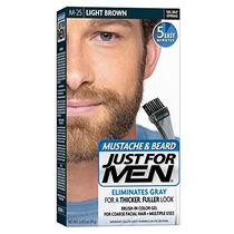Just For Men Bigote Y La Barba Brocha Incorporado En El Gel