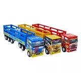 Brinquedo - Caminhão Scania Boiadeiro - 107 Junges
