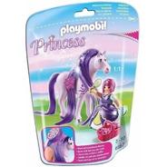 Playmobil Princesa Viola Con Caballo 6167 Intek