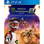 Moto Monster Energy Supercross 2- Ps4 Fisico Nuevo & Sellado