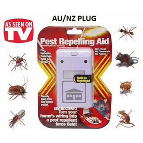 Repelente Eletrônico Mata Rato Barata Mosca Luz Noturna