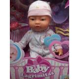 Muñeca Baby Lagrimitas Llora De Verdad (original Boing Toys)