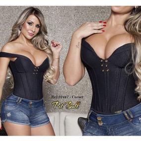 Corset Pit Bull Jeans- Pitbull 22467 P M G Blusa Sex Tomara