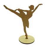 Kit 10 Centros De Mesa Bailarina Para Festas Em Mdf
