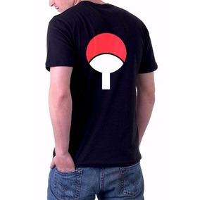 Camiseta Anime Naruto Uchiha Sasuke Itachi Simbolo