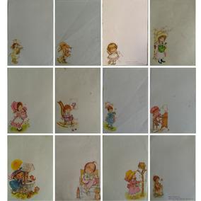 Coleção Papel De Carta Menininhas Anos 80 Lote 118